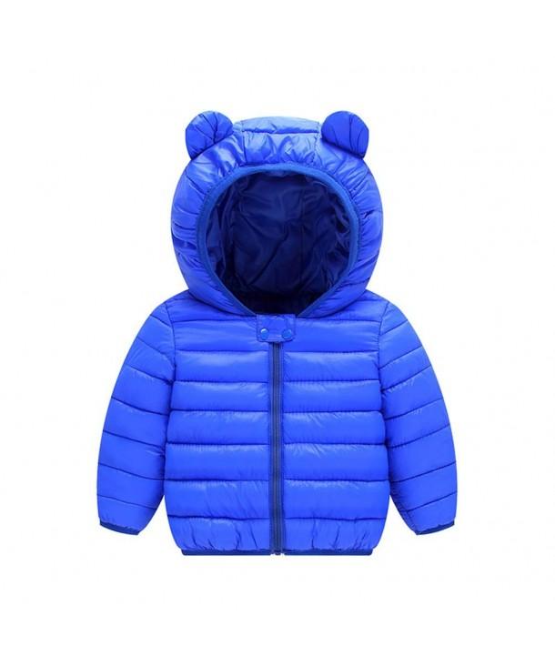 JIANLANPTT Toddler Hooded Winter Outerwear