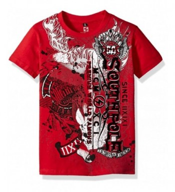 Southpole Short Sleeve Graphic Vetical