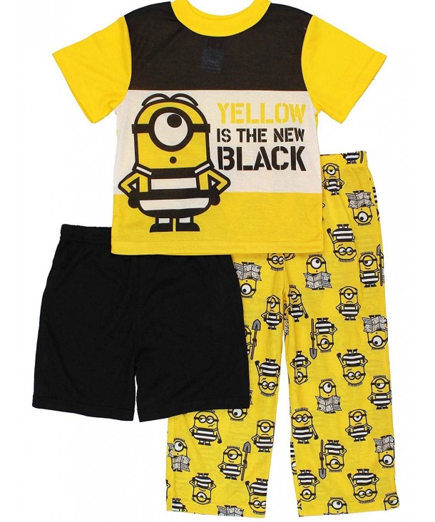 Despicable Me Minions Shorts Pajamas