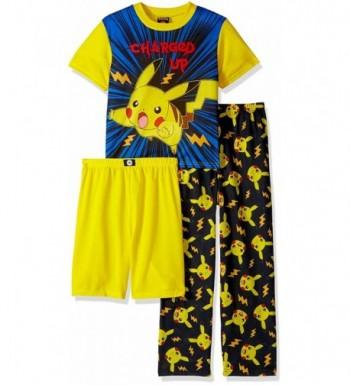 Pokemon Boys Catch 3 Piece Pajama