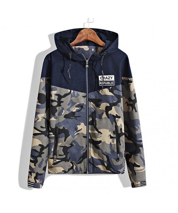 Amcupider Boys Camo Sweatshirt Jacket