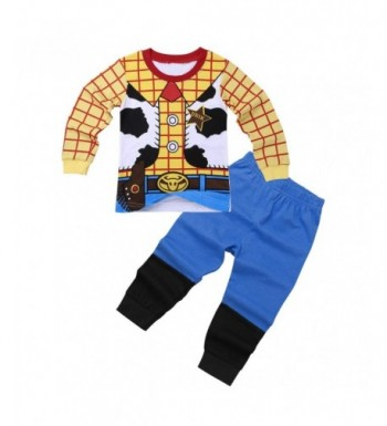 iEFiEL Toddler Cartoon Nightwear Sleepwear