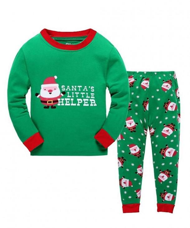 Christmas Pajamas Sleepwear Clothes Chirdren