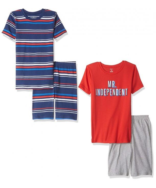 Carters Boys 4 Piece Indepedent Pajama