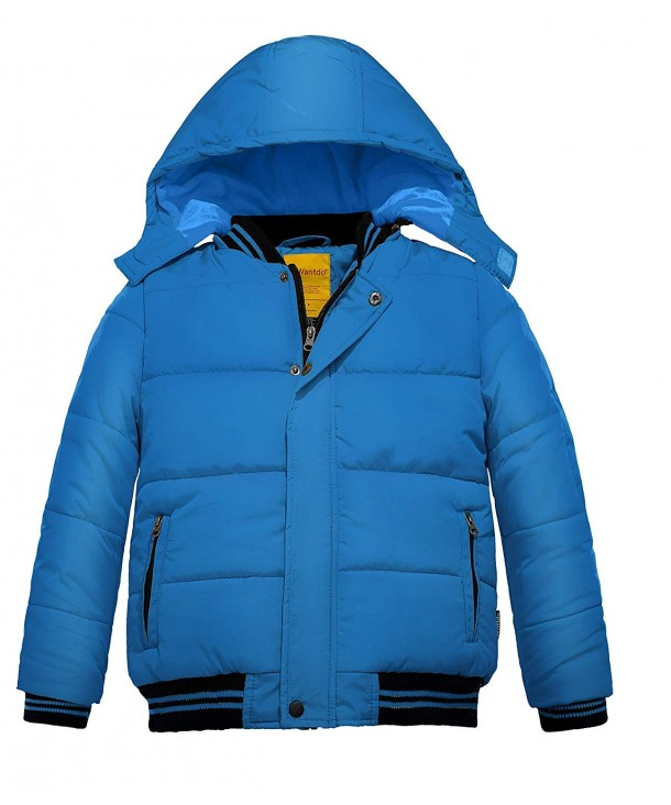 Wantdo Padded Winter Removable Windproof