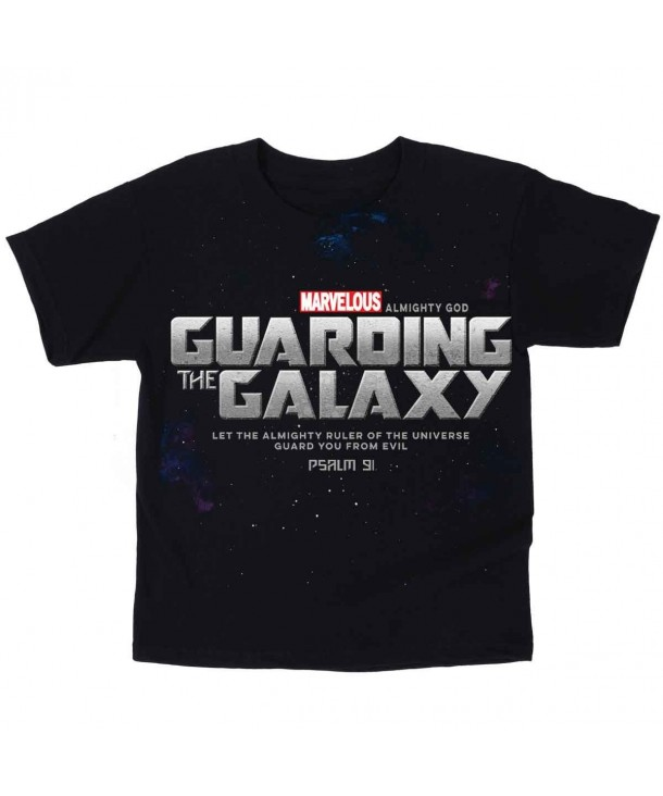Guarding Galaxy Kidz Tee Black