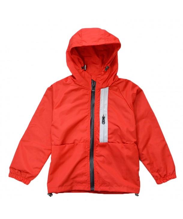KISBINI Windproof Jackets Windbreakers Raincoats