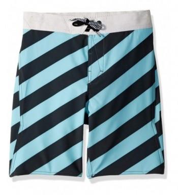 Volcom Boys Stripey Elastic Boardshort