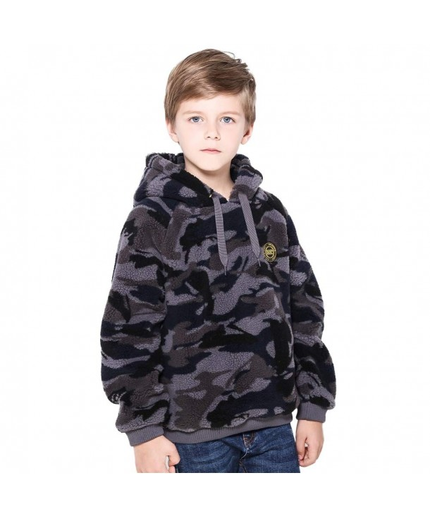 SOLOCOTE Sherpa Pullover Camouflage Windproof