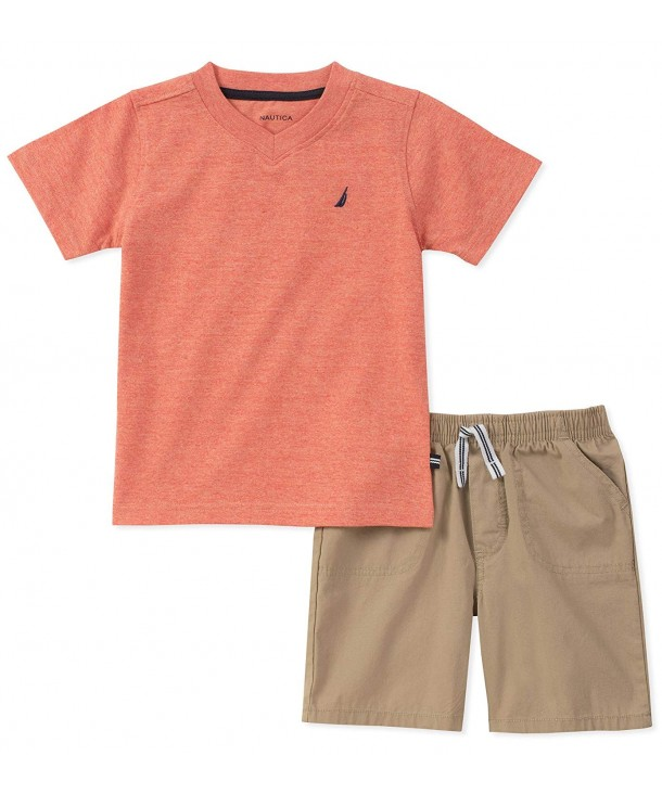 Nautica Boys Tee with Shorts