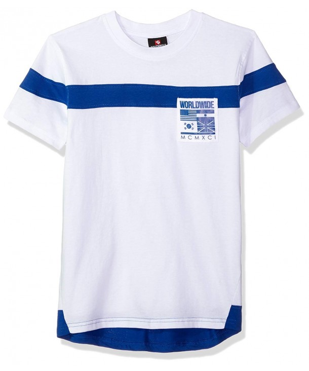 Southpole Short Sleeve Colorblock Nylon