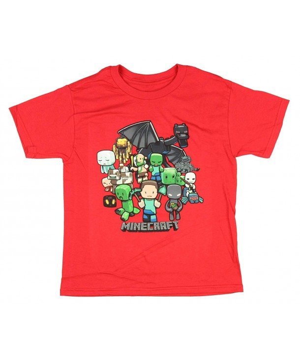 Novelty Minecraft Party Boys Shirt