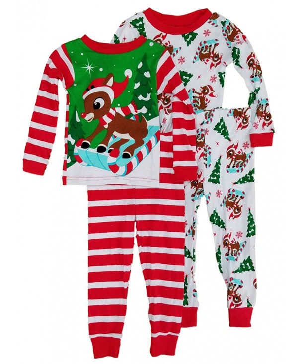 AME Toddler Rudolph Reindeer Striped