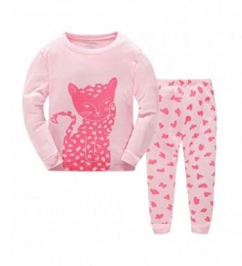 wenwen01 Pajamas Christmas Toddler Sleepwears