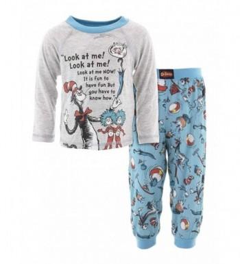 Dr Seuss Toddler Sleeve Pajamas