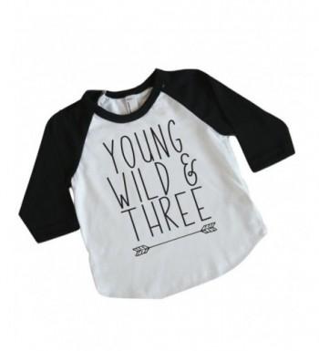 Third Birthday Shirt Three Raglan