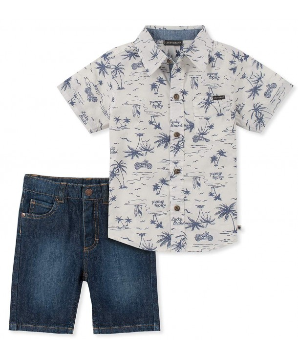 Lucky Sets Pieces Shirt Shorts