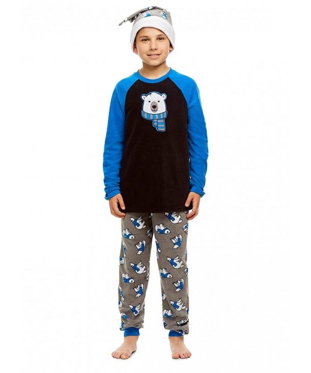 Piece Pajama Sleeve Print Jogger