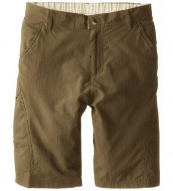 White Sierra Boys Explorer Shorts