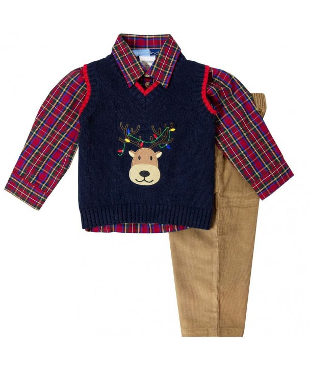 Good Lad Toddler Reindeer Applique