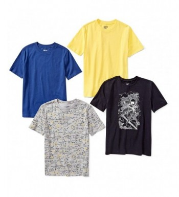 Spotted Zebra 4 Pack Short Sleeve T Shirts