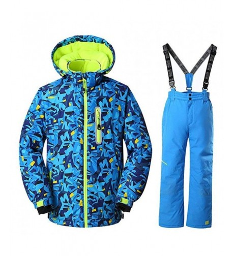 RIUIYELE Waterproof Windproof Heavyweight Snowsuit