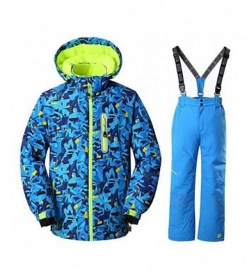 RIUIYELE Waterproof Windproof Heavyweight Snowsuit
