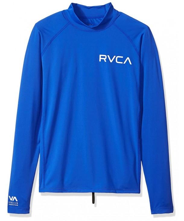 RVCA Boys Solid Sleeve Rashguard