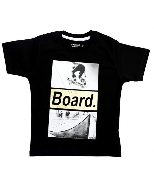 Doreme Tshirt Skateboard Golden Print