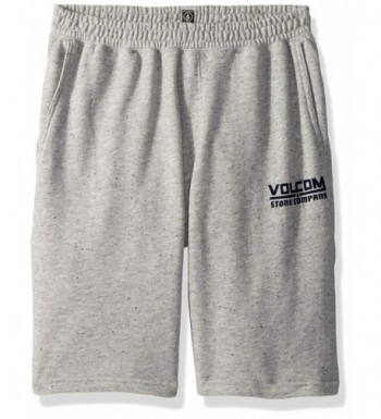 Volcom Boys Billing Fleece Short