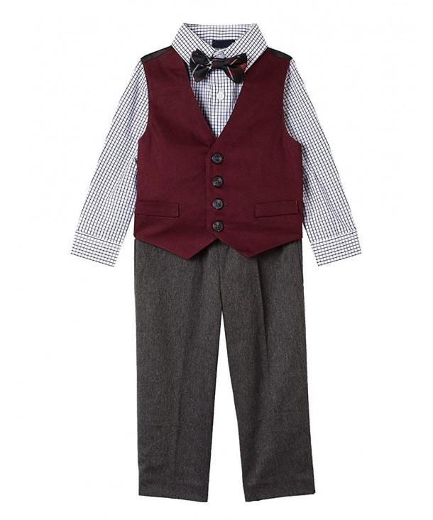 Nautica 4 Piece Formal Dresswear Checkers