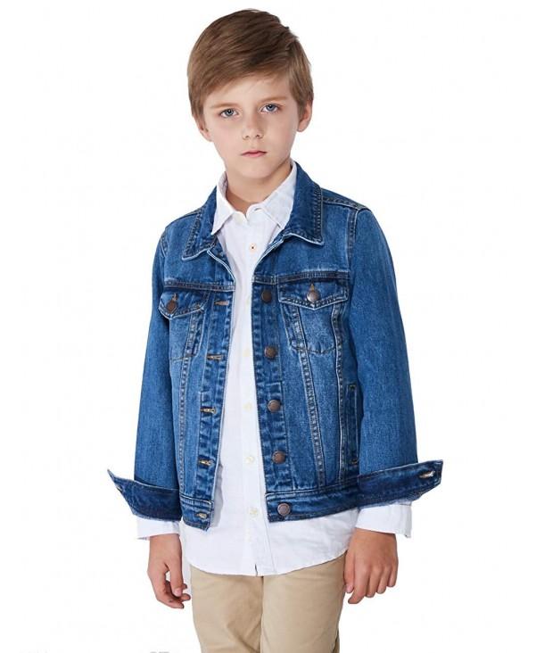 SOLOCOTE Denim Jacket 3 14Y Spring