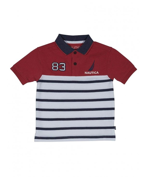 Nautica Short Sleeve Striped Shirt