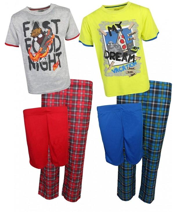 Sleep Boys 6 Piece Spring Pajamas