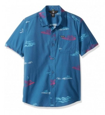 Volcom Phase Short Sleeve Button