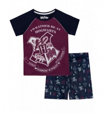 HARRY POTTER Boys Hogwarts Pajamas