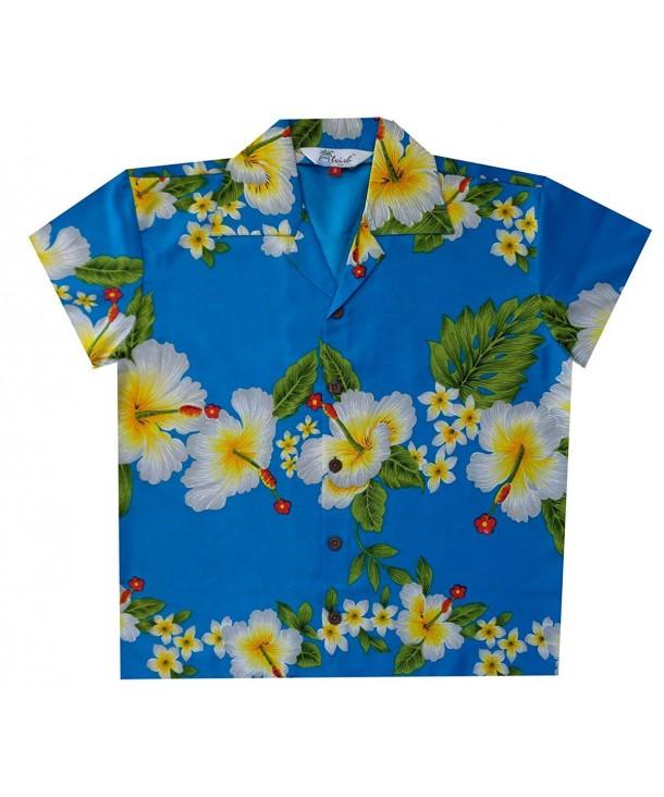 Alvish Hawaiian Shirts Hibiscus Flower