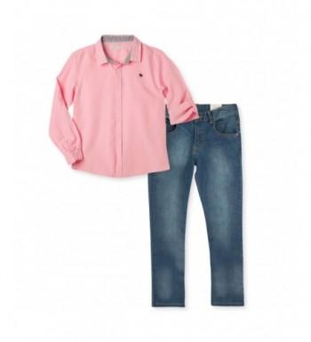 OFFCORSS Long Sleeve Shirt Jeans