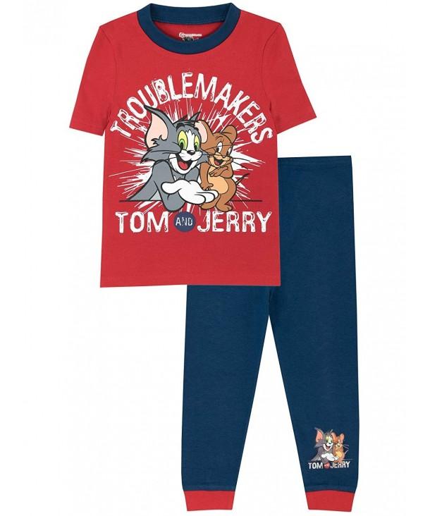 Tom Jerry Boys Pajamas