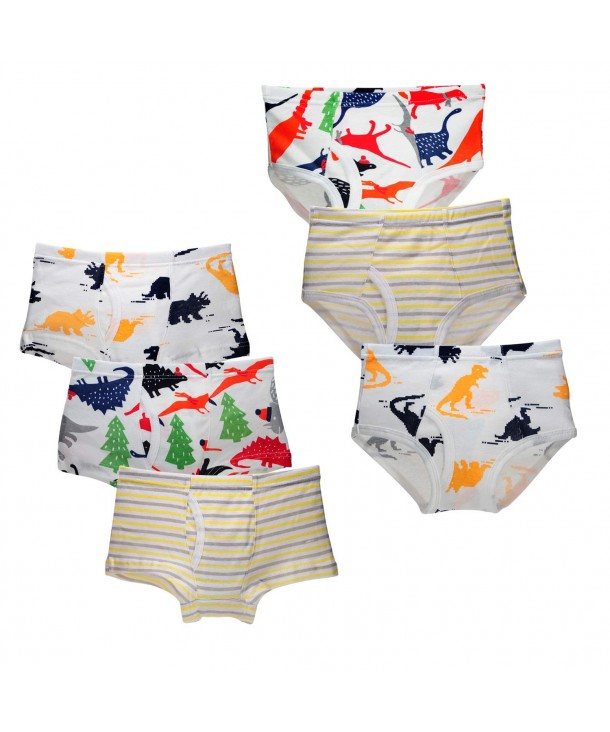 Closecret Toddler Cotton Underwear Assorted