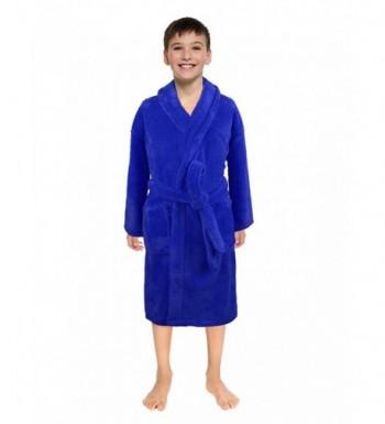 Ultra Soft Plush Shawl Robes Girls