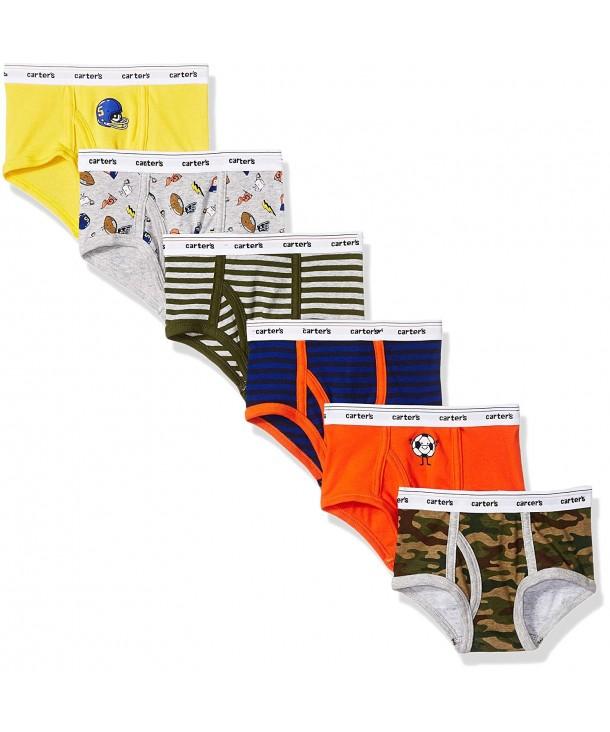 Carters Boys Little 6 Pack Underwear