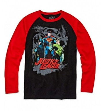 Comics Justice League Sleeve Raglan