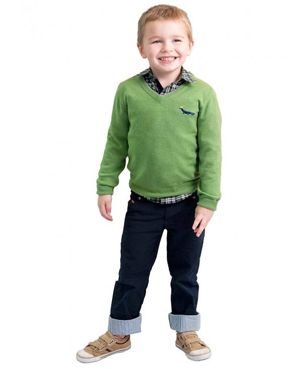 Dakomoda Toddler Cashmere Sweater V Neck