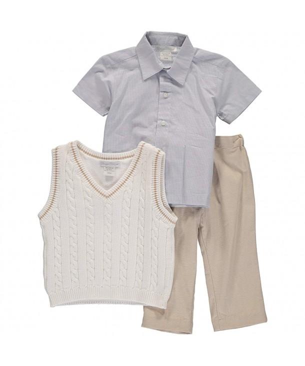 Carriage Boutique Tan3 Piece Vest
