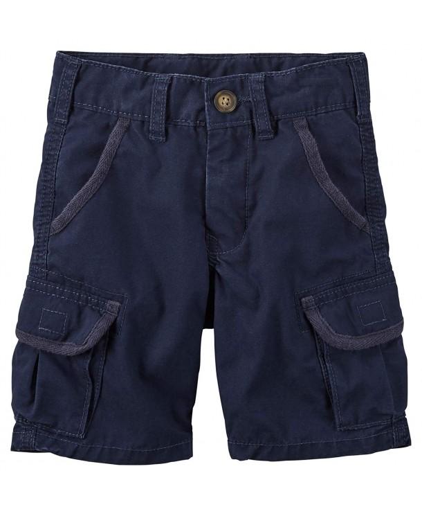 Carters Boys Canvas Cargo Shorts