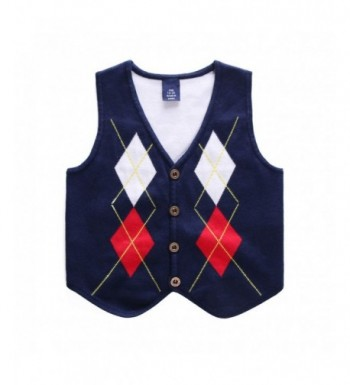Motteecity Embroidered Sleeveless Matches Pullovers