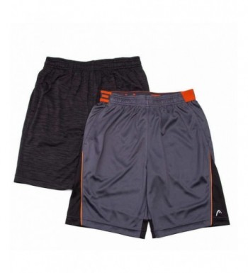 HEAD 2 Pack Athletic Active Shorts