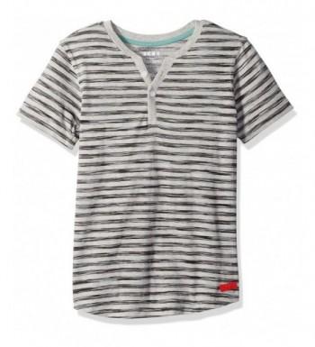 DKNY Sleeve Striped Jersey Henley