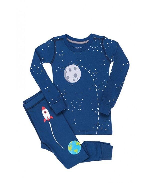 Meru Girls Unisex Rocket Pajama
